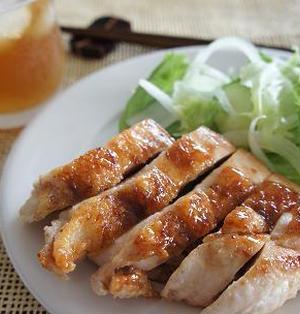 鶏胸肉のアジアン生姜焼き