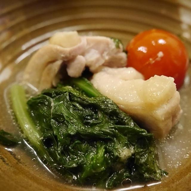 ★ タラコ大根サラダ&白湯鶏鍋