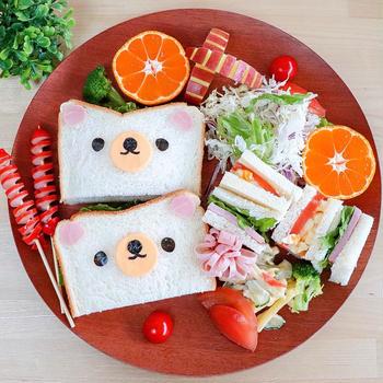 リラックマ*サンドイッチ