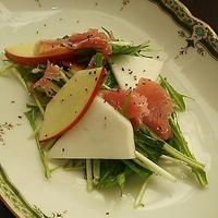 蕪と林檎のサラダ~レシピあり