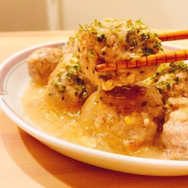 【簡単ダイエットレシピ】味付けは塩胡椒だけ!生姜たっぷり!豆腐で作るふわふわ団子