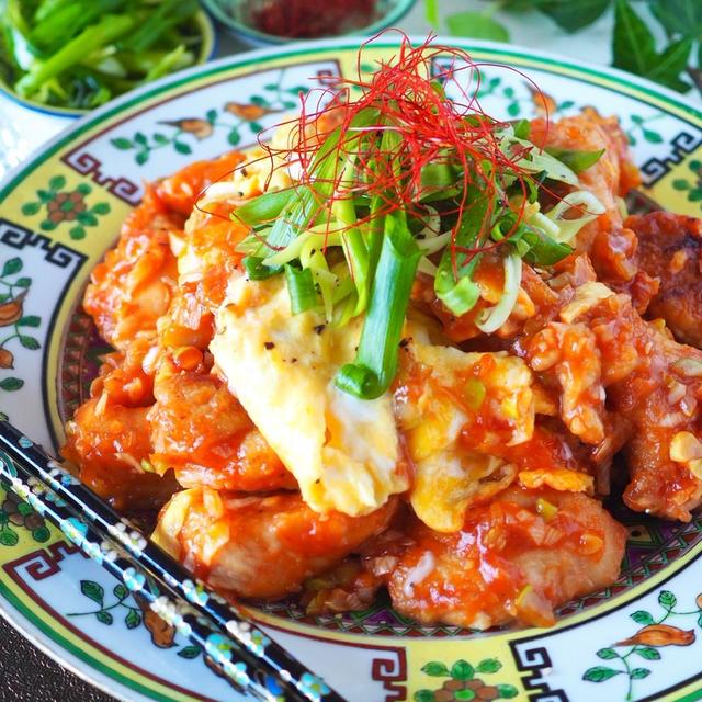 【タレでご飯お代わりできる】海老ならぬ鶏チリソース