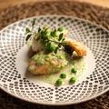 【15分レシピ】魚のソテー豆クリームソース【クエだし醤油】