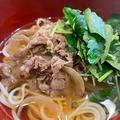 肉にゅう麺