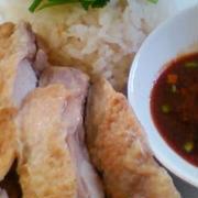 タイ料理☆カウマンガイ