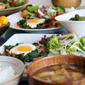 【簡単な朝ご飯/朝富士と夜景も^^】娘の所にお泊まりで作った朝ご飯です。