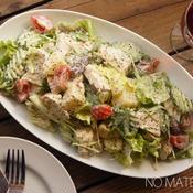 チキンとポテトのレムナードソースのサラダ