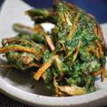 365日レシピNo.81「アオサと春野菜の天ぷら」