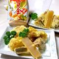 「昭和天ぷら粉 黄金」で、サクサクおでんの天ぷら