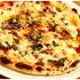 ツナと春菊のピザ