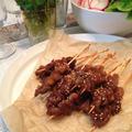 甘辛たれで串焼きが楽しい!韓国風 牛肉のサテ【スパイス大使】
