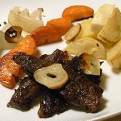 セージ風味 牛カルビ肉のオーブン焼き