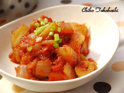 根菜の味噌ラタトゥイユ