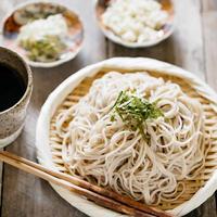 Zaru Soba ざる蕎麦 (Cold Soba Noodles)