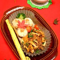 韓国風焼き肉&おにぎり☆レンジで簡単!!