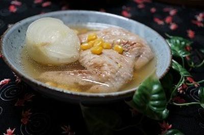 圧力鍋で作るコラーゲンたっぷりスープ