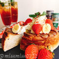 お砂糖なし☆バナナバニラチーズケーキ by Misuzuさん