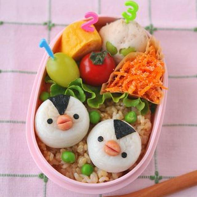 【連載】レシピブログ「かまぼこペンギンのお弁当」