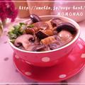 寒天で♪とろりん厚揚げとシメジの免疫アップスープゆず胡椒風味 by MOMONAOさん