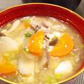 【和食】「生姜入り☆10品目豚汁」&さばの煮付け&もやしの黒ごま和えで晩ごはん。 by きちりーもんじゃさん