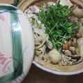 信州蔵出し味噌仕立ての、きしめん鍋
