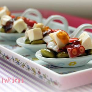 半夏生(はんげしょう)の晩酌に!「タコ&枝豆」のおつまみレシピ