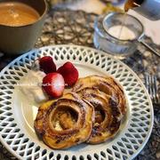 【レシピ】高タンパク低カロリー♪食べ応えありな麸レンチトースト♡ と 感謝。と ラグビー少年。
