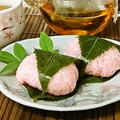 Staub鍋で炊くもち米*桜餅を作る