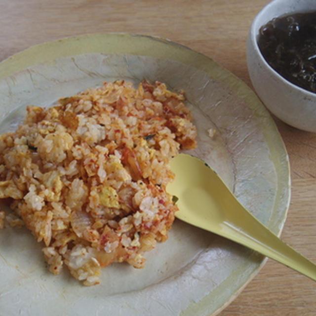 キムチ炒飯
