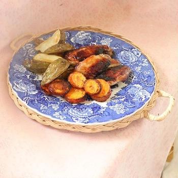 塩こうじ漬鶏手羽先のオーブン焼き