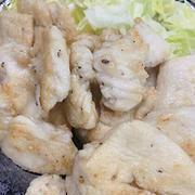 塩漬け鶏胸肉の唐揚げ+チーズ焼き