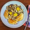 やわらかで香ばしい鶏手羽先と4種のキノコのバターソテー by KOICHIさん
