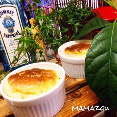 やちゃmaruさんの塩チーズスフレ(つくレポ♪)