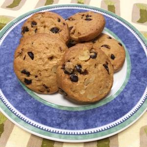 オールスパイスで深み増す、チョコとくるみのクッキー