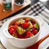 オレガノ香るトマトとアボカドのさっぱりサラダ