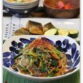 お手軽*合びき肉でチャプチェ 韓国メニュー