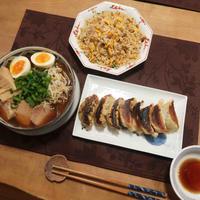 手作りメンマ&チャーシューと株主優待品で晩ご飯と ツツジ2種♪