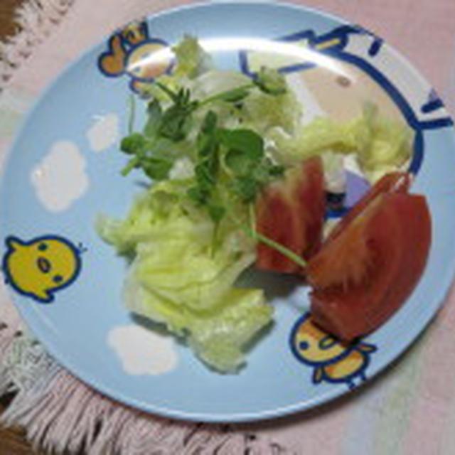 貰った野菜で、おかず♪