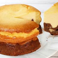 ブラウニー&ベイクドチーズケーキ