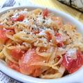 トマトで戻すからうま味がすごい☆ 切り干し大根とトマトのイタリアン炒め煮