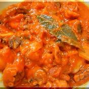 たこのトマト煮