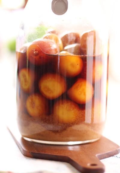 今年は完熟梅シロップ
