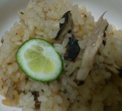 松茸ご飯と台湾のSSS501