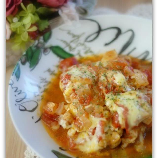 【スパイス大使】ルクエdeとり肉のトマト煮
