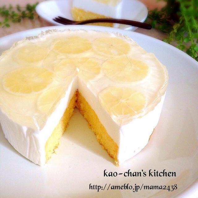 うま~♪簡単*レモンムースケーキ*