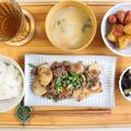 【献立付き】ご飯がすすむ!山芋とひき肉の味噌炒め♪