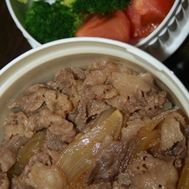 11月7日  牛丼&サラダランチ