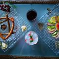 合鴨と 2種のソース ベリースプリッツァー ~ソムリエチャンピオンが認めたグラス~ by 青山 金魚さん