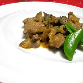 ヴェネチア伝統料理~fegato alla veneziana~