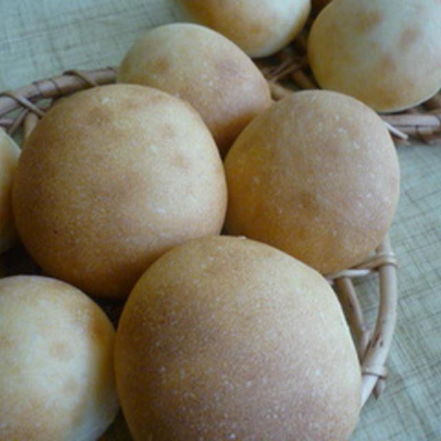 シンプル丸パン♪